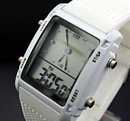 Orologio sportivo - Per uomo - Quarzo - Digitale - LED/Calendario/Cronografo/Resistente all'acqua/allarme