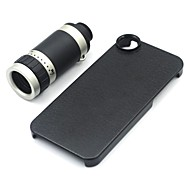 8X Zoom Optical Mobile Cell Phone Telescope Camera Lens+Case For iPhone 5 5S