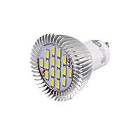 Faretti LED 16 SMD 5630 YouOKLight GU10 8W Decorativo 650 LM Luce fredda 1 pezzo V