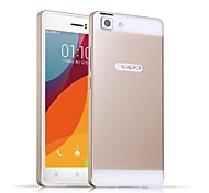 HHMM Aluminum Frame PC Back Cover Mobile Phone Covers Protective Cases For OPPO R5 R8107 (Assorted Colors)