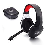 huhd hw-399m 2.4ghz aparelhagem hi-fi fibra-ópticas sem fios xbox 360 ps4 um ruído pc gaming headset cancelamento