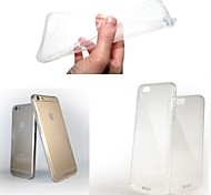iPhone 6 Plus - Rückseiten Cover - Transparent TPU )