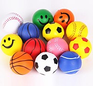 Pet Supplies Bouncy Ball Dog Throwing Pet Toys for Dogs (Random Color)