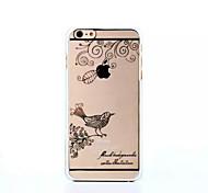 iPhone 6 - Edelstein-verzierte Hülle/Cover-Rückseite - Spezielles Design/Diamant/Strass verziertes Gehäuse ( Schwarz/Silber , Polycarbonat