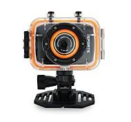 Caméscope - Écran - CMOS 5.0MP - 2.0 pouces - 4X - Sortie vidéo/Grand angle/720P/1080P/HD/Anti-Chocs/Encore photo Capture