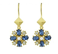 New Coming Cheap Wholesale Gemstone Drop Earrings