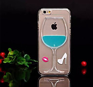 iPhone 5/5S iPhone - Per retro - per Design/Transparente Plastica )