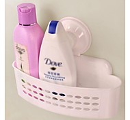 rack de armazenamento do banheiro disco de sucção (cor aleatória)
