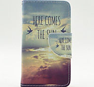 The Cloud of Birds Pattern Full Body Case with Stylus ,Anti-Dust Plug and Stand for Nokia Lumia 530