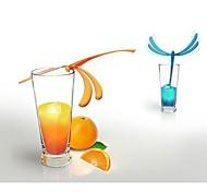 vara forma libélula equilíbrio mágico swizzle (cor aleatória)