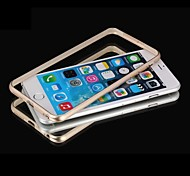 Metal Ultra Thin Slim Frame Bumper Case Cover for iPhone 6(Assorted Colors)