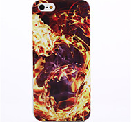 Flame Pattern Soft TPU Case for iPhone 5/5S