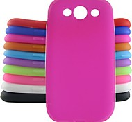 jelly siliconen case voor Samsung Galaxy S3 i9300