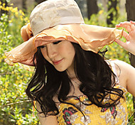 Women Casual Summer Linen Floppy Hat