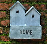 """11 """"h céu azul casa de estilo rural em forma de vaso de madeira dois grade"""