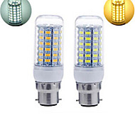 1pcs B22 25W 69X SMD 5730 1656LM 2800-3500/6000-6500K Warm White/Cool White Corn Bulbs AC 220V