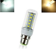 1pcs B22 12W 36X SMD 5730 864LM 2700-3500/5500-6500K Warm White/Cool White Corn Bulbs AC 220V