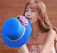 UV Sunscreen Spring Flower Visor Floppy Hat
