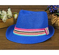 Unisex Party/Casual All Seasons Straw Straw Hat
