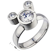 Classic  Women's As Picture Hao stone Rings(As Picture)(1 Pc)
