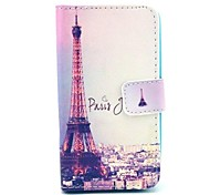 Tower Pattern PU Leather Full Body Case  for HUAWEI Y330