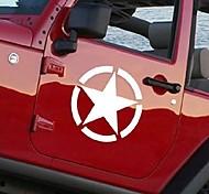 adhesivos para el coche con el coche de estilo estrella de cinco puntas