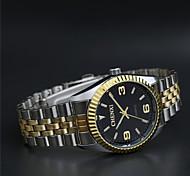 CHENXI High-grade Gold Watchband Business Quartz Watch