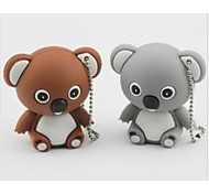 bonito modelo koala usb 2.0 memória suficiente pen drive flash de 16GB vara