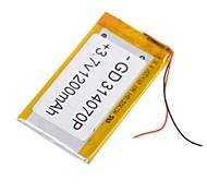 Batteria - Litio-polimero 314070P - 1200mAh - ( mAh )
