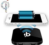 DC 5V Qi Wireless Charging Pad Charger and 2 USB 5V Port for Samsung Galaxy S5/S4/S3/HTC LG and Others