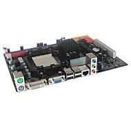 C68 Micro ATX Socket AM2/AM2+/AM3 DDR2/DDR3 Computer Motherboard