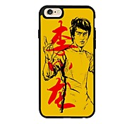 Kungfu Pattern With Chinese Elements TPU Soft Case Fits The Silicone Mobile Phone Shell of IPhone 6