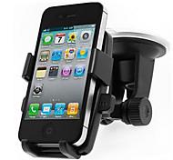 montaje IPD-07 con articulación universal parabrisas del coche para iphone4s 5 5s 6 / Samsung / Nokia / teléfono móvil htc