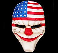Payday 2 maschera resina dallas per Halloween Party (1 pz)
