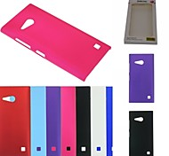 Kemile Luxury Colorful Hard Platic Matte Back Cover Cae for Nokia Lumia 730 N730 (Aorted Color)