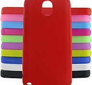 Jelly Silicone Case for Samsung Galaxy Note 3 (Assorted Colors)