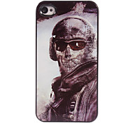 Shootfighters Design Aluminum Hard Case for iPhone 4/4S