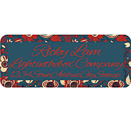 Personalized Product Labels / Address Labels Flower Pattern of Film Paper