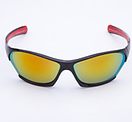 Anti-Reflective Men's Wrap Plastic Fashion Driving Sunglasses