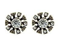 Wholesale Cheap Vintage Style Women Stud Stone Earrings