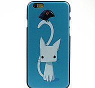 Small White Kitty Pattern hard Case for iPhone 6