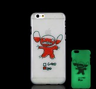 Cartoon Pattern Glow in the Dark Hard Case for iPhone 6