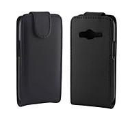 Samsung Handy - Samsung Galaxy Ace 4 G313H - Hüllen (Full Body) - Einfarbig/Spezielles Design PU Leder )