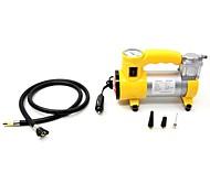 compresor tirol portable estupenda 12v caudal de la bomba de aire del coche 150 psi de aire con luz y faro / inflador de neumáticos de automóviles