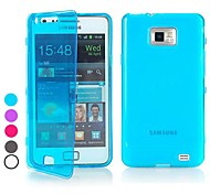BIG D Touch View TPU Full Body Case for Samsung Galaxy S2 I9100(Assorted Colors)