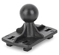 mot-722 conector del soporte del sostenedor de la motocicleta / bicicleta para el teléfono móvil / gps / walkie talkie (negro)