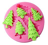 stampi decorazione della torta stampo in silicone albero di Natale