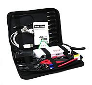 12v 200a / 400a 15000mah Li-Ion аккумулятор автомобиля скачок Мощность стартера с 3W светодиод