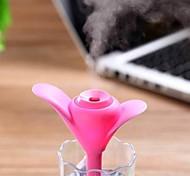 New USB Mini Clover Night Light Humidifier Office Air Diffuser Aroma Mist Maker