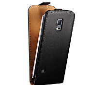 Genuine Leather Flip Case for Samsung Galaxy S5 mini (Assorted Colors)
